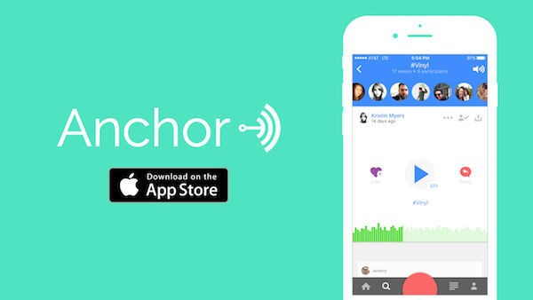 Anchor App Screenshot