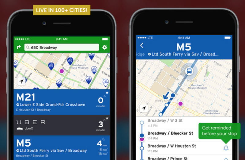 Transit App Screenshots