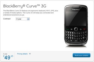 Bell BlackBerry Curve 3G