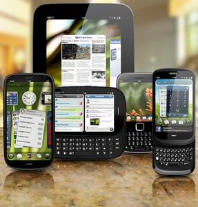 Palm new webOS devices