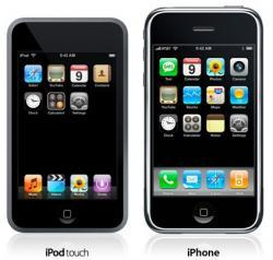 8gb iPhone, iPod Touch