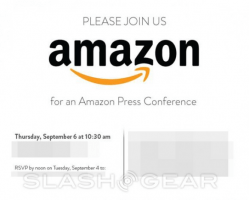 Amazon Sets September 6 Press Event Likely for 2nd Gen Kindle Fire